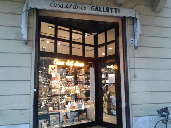 Casa del disco Galletti, Faenza