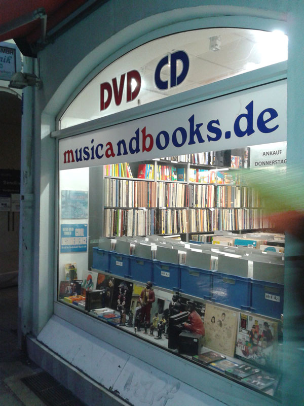 Music and Books, Kreuzstrasse 13, Monaco