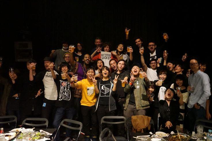Crew del Fecking Bahamas fest a Tokyo, pic dal fb dei DAGS!